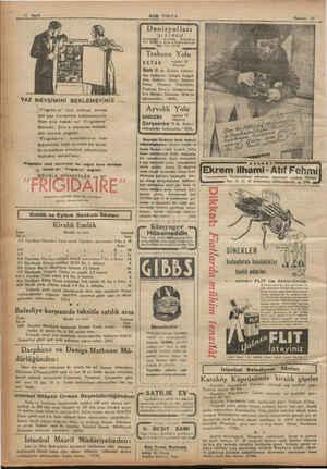"""12 Sayfa YAZ MEVSİMİNİ BEKLEMEYİNİZ..... , , Frigidaire"""" inizi intihap etmek için yaz mevsimini beklemeyiniz. Hem size hakiki"""