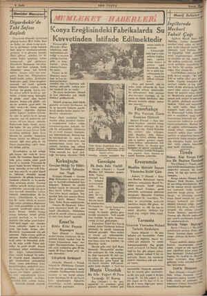 Diyarıbekir'de Taht Safası Başladı Diyarıbekir (Hususi) — Şehrimizde gölgede hararet 38 zi buldu. Saat en ikiden on altıya
