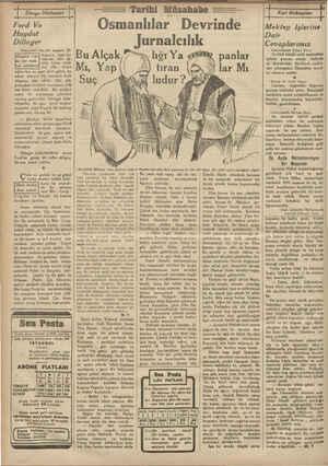 Dünya Hâdiseleri jz—————r— Ford Ve Haydut Dilinger Amerikalı haydut moşhur Di- linger'in İsml bu- ralarda — bile İşi- tü...
