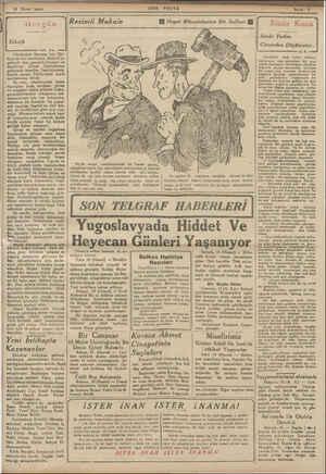 18 Birinci teşrin SON POSTA Falih  Rifla Cümhuriyet Bayramı için Tür- kiye'nin her tarafından Ankara'ya gelecek olan...