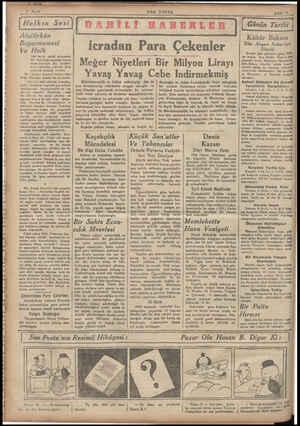 Atatürkün Beyannamesi Ve Halk Yeni saylav seçimi münascbe- irkün neşrettiği beyane nama hakkında dün, okurları- n...
