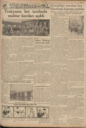 Sayfa S5 Taksan le tarafında muhtar kursları açıldı İbrala tarar (Hususi) — Burada muh - eyi için bir kurs açılmıştır. Bu