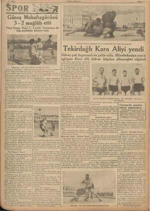 Güneş Muhafızgücünü 3 -2 mağlüb etti Först Viyena, Perayı 5 - 0 yendi,- Galatasaray altı klüp muhtelitile berabere kaldı