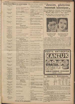 1 Birnciteşrin 4/İlkteşrin/1938 Salı » » 8/İlkteşrin/1938 Çarşamba , > 6/İlkteşrin/1938 Perşembe » » 7/İlkteşrin/1938 Cuma