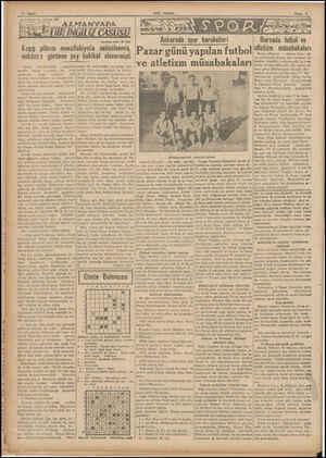 M7-E-ü 1 M7 14 Sayfa «Son Posta nun tofrikası: 25 Kaçış plânım muvaffakiyetie  neticelenmiş, imkânsız görünen şey hakikat...
