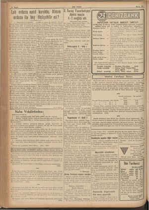 Leh ordusu nasıl kuruldu, Alman ordusu ile boy w— (Baştarafı 7 inci sayfada) İbuş bir tayyare tipini imal etmek kolay- Bır.
