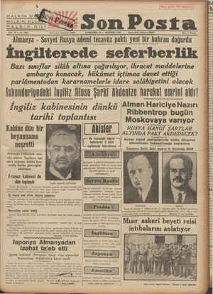 HALKIN &G HALKIN KUL HUA L K LINOFİ ——— Sene 10 — No. 3257 Yazı işleri telefonu: 20203 ÇARŞAMBA 23 — AĞUSTOS 1930 İdare...