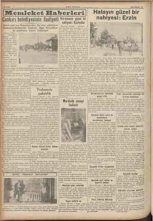 10 Sayfa ———. 4 * Şehrin müi rem ihtiyaclarından biri olan sokakların kaldırımlandırılmasına başlandı, diğer ihtiyacların da