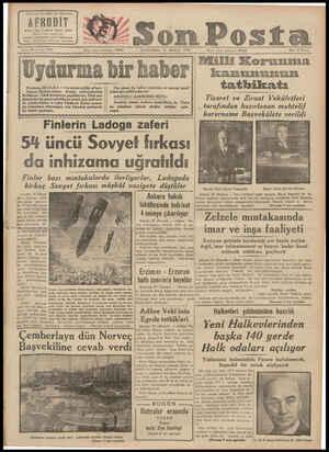 """ın ve alâk Ajşnunır Birinci tabı $ günde yağma edildi Sonm Posta k""""l'l 21 S( X'Il' IDIO Uydurn Moskova, 20 (A.A.) — T as..."""