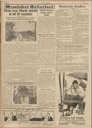 7 | » Sayram büyük bir merasimle kutlan -| Tarsus kaza itiharile mektebi en bol bir kasabadır Tarsusta bir orta okul, beş ilk