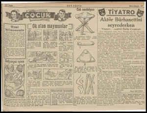 """SON POSTA Ceb sandalyası Aktör Bürhanettini (Ok atan maymunlar 1) .#N seyrederken i Yazan: .susret Sefa Coşkun p > """" . .. >"""