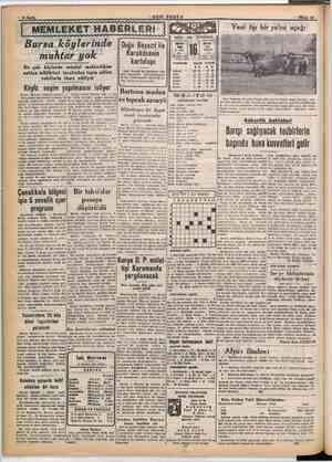 "Ni 5 : SON POSTA Yeni tip bir yolcu uçağı NİSAN - 1949 - CUMARTESİ MİCRİ RUMİ 1008 1365 C. âhir NİSAN "" 3 Kasım 160 ü Gün"