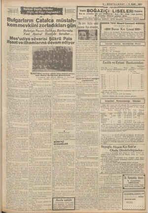 ADGA Niçin ve Nasıl Kaybettik? - 28 — Bulgarların Çatalca müstah- kem mevkiini zorladıkları gün ,, ifşa etmedim,, Bahriye