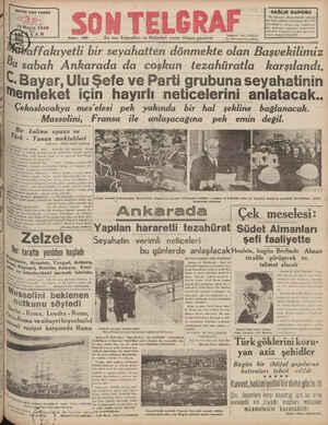 SAYISI HER YERDE 15 Mayıı 1938 Sayı: 425 ——— ———0 SAĞLIK KUPONU Bu kuponun firndâ tanestini toplayıp idaremize getiren...
