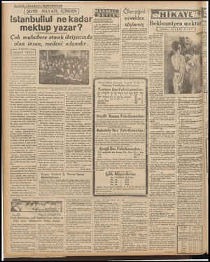 £—S0N TELGR A F — 23BİRİNCİKÂNUN 1939 ŞEHİR HAYATI İÇİNDEN M ERAKLIÇ ) oZAMLIRIZ İ Bik BALİNA BALIGININ | Ölece evvelden | |