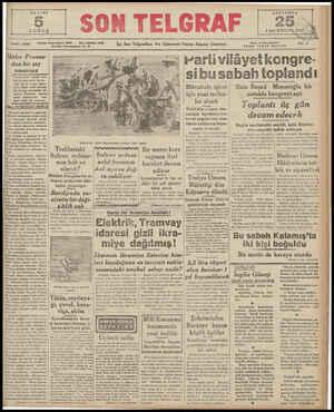 e) KURUŞ SAYI | 1866 Hitler Fransa- dan bir şey umamaz bal ve hörriyetini kurtar » mak için er ve geç İngiliz- lerle tekrar