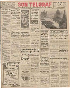 "N "" K SA AA AAA A AAA TELARAF 10 Temmuz 1941 Baş M 20677 İstanbul İdare M 203 Son Telgrat SON TELGRAF EN SON TELGRAFLARI VE"
