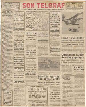 | Temmuz 1941 | çizeami uharriri ETEM ÇÖRÇİLİN! nutkundan | öğrendiğimiz ! Sovyet . Alman harbi; İn- gilterenin — hazırlığı;
