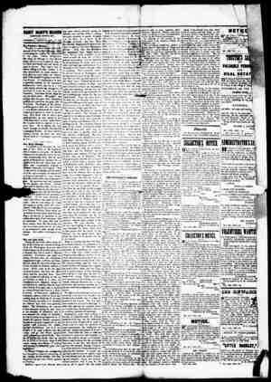 SAINT MARY'S BEACON LROKARD TOWN MV).. THtfMDAV MORNING. DEC. 12. 1861 fk Fraident's Message Ww fire In smother column a...