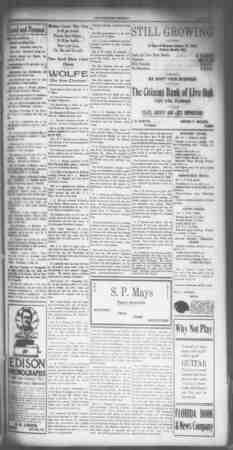 Suwannee Democrat Gazetesi 5 Şubat 1909 kapağı