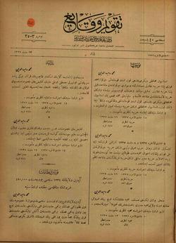 Takvim-i Vekayi Gazetesi 23 Mart 1919 kapağı