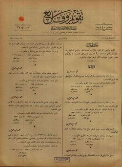 Takvim-i Vekayi Gazetesi 24 Mart 1919 kapağı