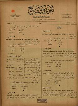 Takvim-i Vekayi Gazetesi 24 Nisan 1919 kapağı