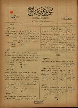 Takvim-i Vekayi Gazetesi 29 Nisan 1919 kapağı