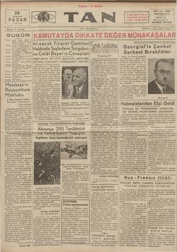 Tan Gazetesi 28 Nisan 1935 kapağı