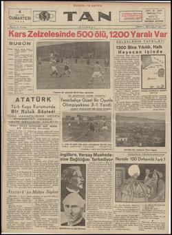 Tan Gazetesi 4 Mayıs 1935 kapağı