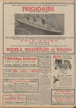 eme 16 TAN 83.y.3855 e gaye NN   YALA Dünyanın en büyük gemisi olan 71000 tonluk Normandie, buz ihtiyacını mutfaklarında,
