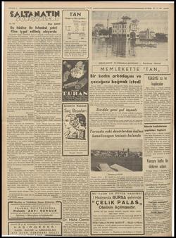 SALTANATIN No. 138 Bu hâdise ile filen işgal ed Köprüd vetli Fransız müfrezeler ları, Eminönü meydanına çevril - i - Kadıkö;