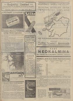 5-9- 96 — Eski FEYZİiATi Sm Boğaziçi Lise in hergün mektebe ve y mürucast edilebilir. le te ri kolayca tras eden tıraş...