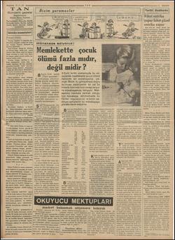 Z —— 21-9.936 Gündelik gazete Başmuharriri Ahmet Emin Yalman 'Tan'm hedefi: Haberde, fikirde, herşeyde temiz, dürüst, samimi
