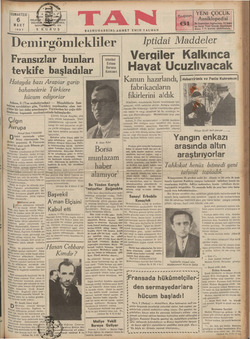 in | Avrupa Ahmet Emin YALMAN ünkü sayımızda sıkan | Atina röportajında Yu: Boslav gazetecisi B. Vinoverin Büzel bir sözü