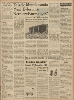 """zaamFTİKk"""" rs """" in ER ——— 1.5. 1938 TAN Gündelik Gazete — 'TAN'ın hedefi: Haberde, fikirde, her Meyda temiz, dürüm, samimi"""