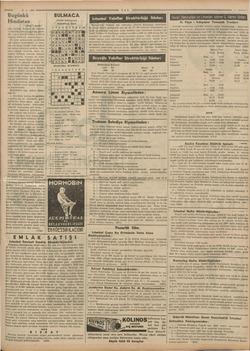 Saz 15-5. 1938 Bugünkü Hindistan (Başı 7 incide) atler kaldım. Binaları ve vasıtala- rı fakirdir, fakat temiz ve güzel-...