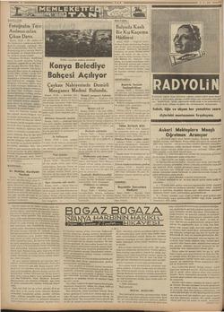 Em e NAZİLLİDE; l Fotoğrafın Ters   Asılmasından Çıkan Dava Nazilli, (TAN) — Bir müddet ev- vel Cümhuriyet...