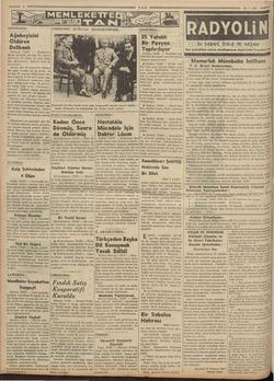 SINDIRGIDA; | Ağabeyisini Öldüren Delikanlı Balikesir, (TAN) Sındırgının! Menet köyünde çok feci bir cinayet işlenilmiş,