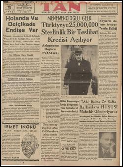 | İMOlAMNÜAd VG VİLNLMCNUİUVULU ULLÜİ Belçikada Türkiyeye25,000,000 î:ğ'îığbâ H,ğ??'îî : Yîi Sterlinlik Bir Teslıhatı şknzüz dlk Yd 30-40 Bin Kişi Silâh Altına Alındı; Nakil | aa ..... en 30-40 Bin Kişi Siâh Alfına Alndı Na ——— |O seoadiısiı Acılıvor ı -