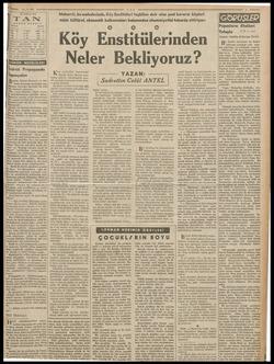.4.940 37 NİSAN 940 TAN ABONE BEDELİ İİ Türkiye Ecnebi ! apmıyalım Bvrün, Ulusal Ekonomi ve Art. tırma Kurumu tarafından neş.