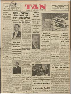 """TF MAYIS 1941) Amerikan Yardımı Niçin Geç Kalıyor? yardıma göle- ginden değil, A"""" eriksn siyasf ve içtimal rmin ;..."""