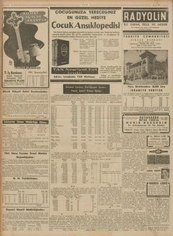 TAN T.İş Bankası Küçük Tasarruf Hesapları 1941 N IKRAMİYE PLANI İĞ eçideler 4 Şubat, 2 Mayıs, 1 Ağs- | Moe, 3...