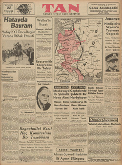 Çarşamba 23 TEMMUZ 1941 Montreux'den Sonra Boğazların Ehemmiyeti Montreux'de  Böğazların- Türkiye tarafından tehkimi ve...