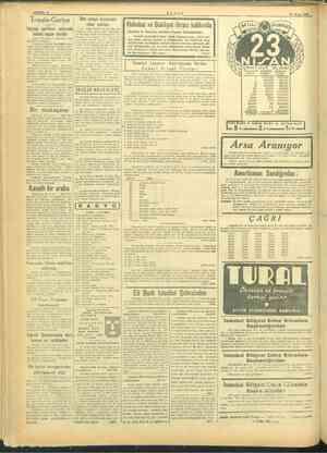 Mg > SAYFA: 4 Trieste-Gorice Italyan erimi arasında ki noktai r ihtilâ Roma, ire Reuter'in özel muhabiri ol İtalyanın,...