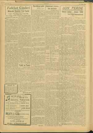 v0 e e, 2 emma Fri Gmlei    ewel( SON PERDE Mütareke Devrinin Feci Tarihi ie İl Sibel 1945 Yazan: Eski Maliye Nazırı Cavit