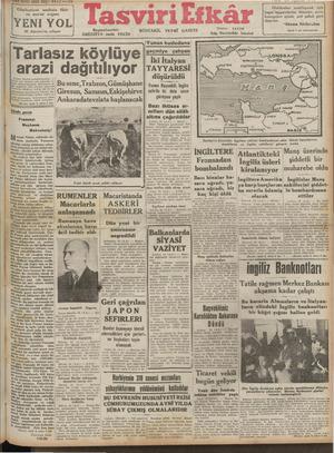 ı + —D | ——— İ F'İl #INCI Sene, Sayı, GA2 —HU AA e ae eee Cümhuriyet neslinin fikir an'at organı YENİ YOL 30 Ağustos'ta...