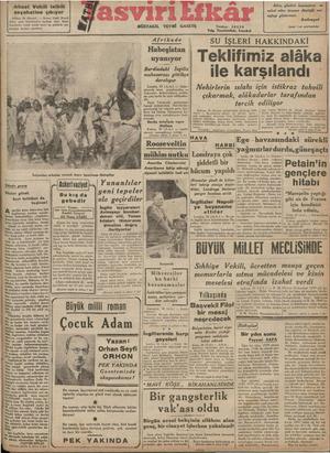 e ŞUT T TU ıktısat Vekili tetkik seyahatine çıkıyor Ankara, 90 (Hususl) dözü ğ'f Var, da FiF PLERİ F f FFf daşlarına karşı