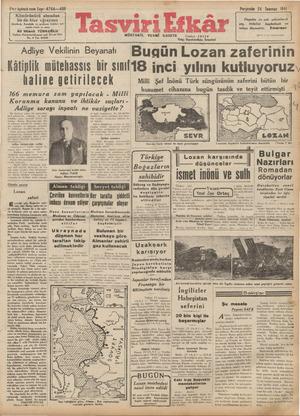 """g """"W TUT T Porşhınlı 24 Temmuz 1941 ! Ctwz üçüncü sene. Sayı: 4764—408 Kömürünüzü almadan bir de-bize uğrayınız itidalini..."""
