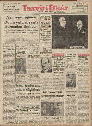 Otuz üçüncü sene. Sayı: 4786-—430 YARIN İstanbul çeşmeleri hakkında Lüifi Kırdarla bir konuşma NYt DErei eee aö TÜ A GA Her